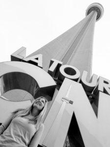 Traveling to Toronto CN tower 225x300