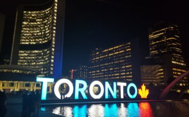Traveling to Toronto Toronto sign 370x230